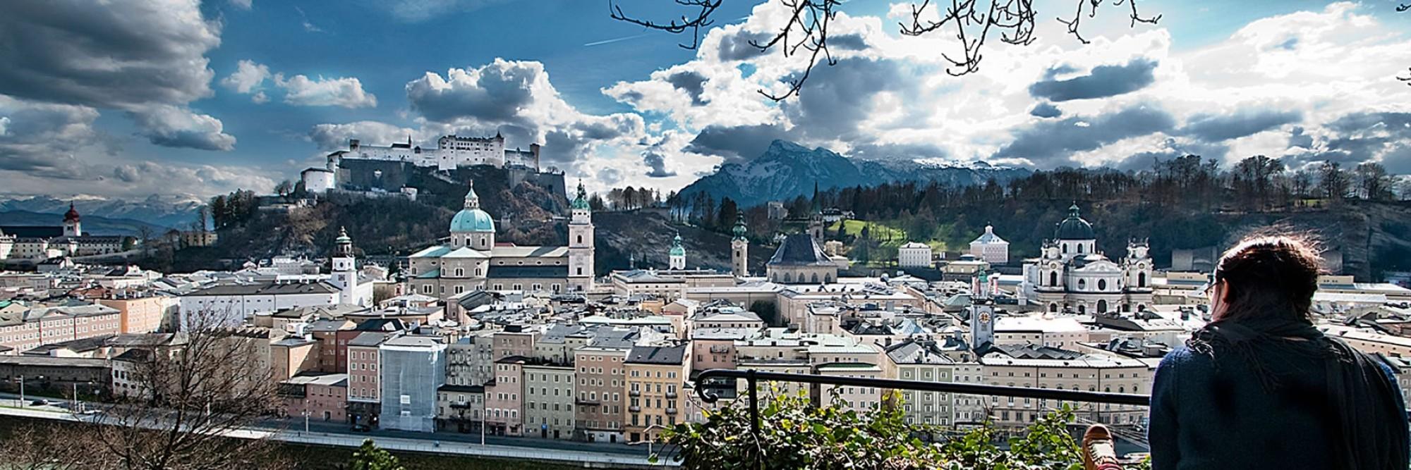 Salzburg Parken Innenstadt